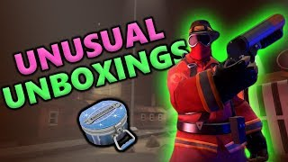 TF2 Unusual Unboxing Compilation #13