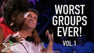 Video The WORST GROUP AUDITIONS On X Factor! Volume 1 | X Factor Global MP3, 3GP, MP4, WEBM, AVI, FLV Agustus 2019