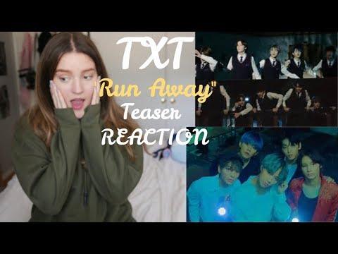 TXT (투모로우바이투게더) 'Run Away' Teasers 1&2 (REACTION!!!)