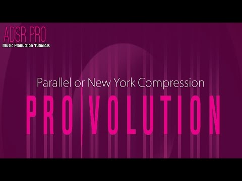 ADSR Pro Parallel or New York Compression in Steinberg Cubase 5 Tutorial Video