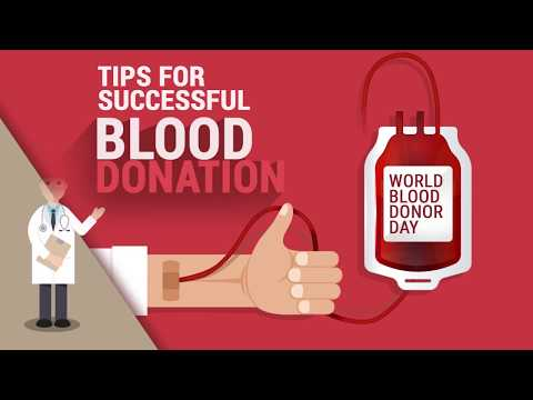 TIPS: Before Blood Donation
