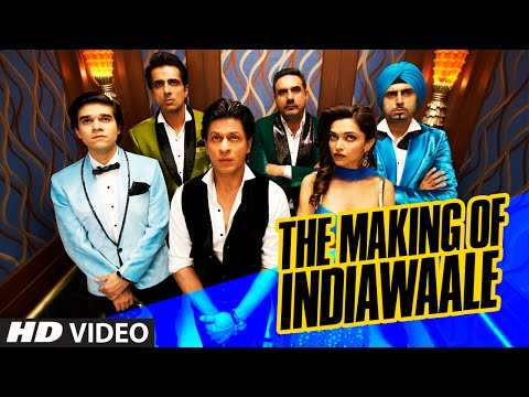 Exclusive: Making Of 'India Waale' | Happy New Year | Shah Rukh Khan, Deepika Padukone | T-SERIES