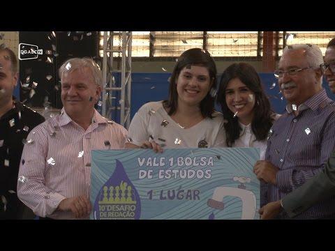 Aluna de Ribeirão Pires é a vencedora do 10º Desafio de Redação.