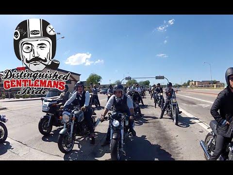 Vintage Motorcycles & The Distinguished Gentleman's Ride - MotoVlog