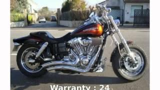 5. 2010 Harley-Davidson Dyna Glide CVO Fat Bob - Features, Info