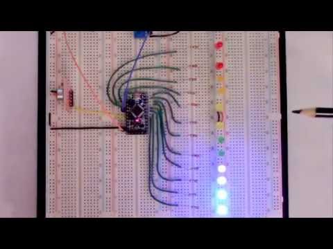 Learning Arduino and Electronics: Arduino project - VU