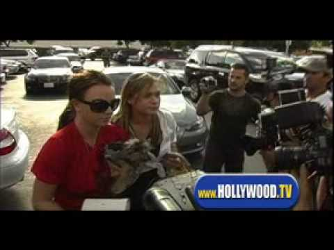 Britney Spears Mobbed with Friend