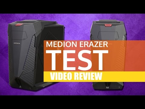Kann MEDION High-End? / MEDION ERAZER Test - GIGA GAMES