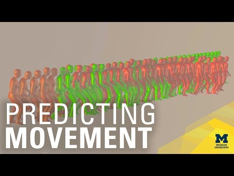 University of Michigan: Prognose des Fußverkehrs
