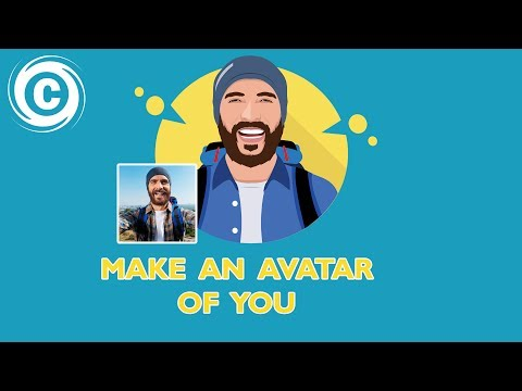 How To Designing A Flat Avatar | Flat Icon |  Adobe Illustrator | Speed Art