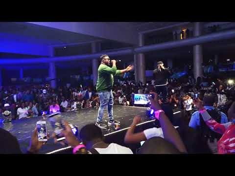 PIDGIN EVENT: Watch Wande Coal And Falz Performance At #TheFalzExperience