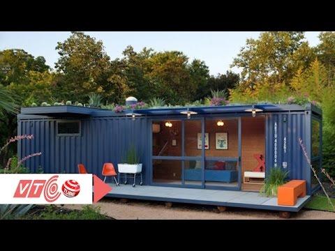 Nhà container tiện nghi cho người thu nhập thấp