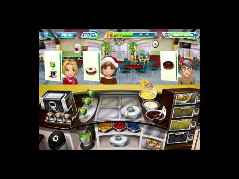 Cooking Fever [iPad Gameplay] Bakery Level 35