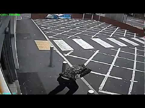 LOOT!!! - A robber spilt his loot as he stumbled out of a supermarket following a raid in Heywood. At about 8.20am on Sunday 19 October 2014, a man entered the Tesco Express on Bury Street. Unsteady...
