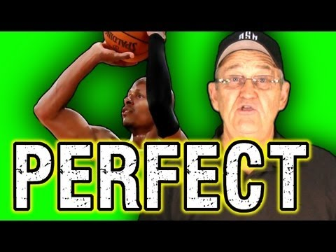 Get Perfect Shooting Form!  (Form Shooting Drill) –ShotScience Basketball
