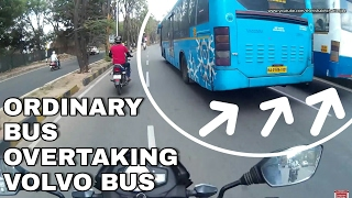 Nonton Bangalore Roads - 13 | BMTC Ordinary Bus Overtaking Volvo Bus | Fast & Furious Buses Film Subtitle Indonesia Streaming Movie Download