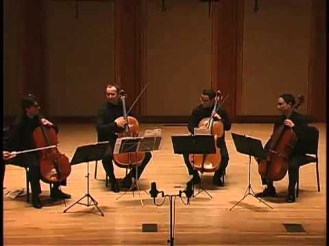 Boston Cello Quartet plays Dejardin,