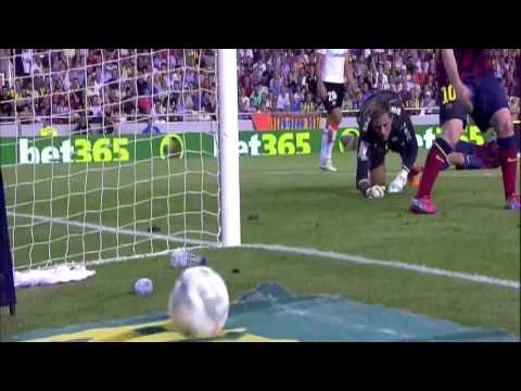 Valencia - Barcelona Highlights HD 01.09.2013 (видео)