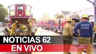 Bomberos combaten incendios en un edificio comercial en el sur de Los Ángeles – Noticias 62 - Thumbnail
