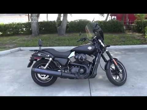 Used 2015 Harley Davidson XG750 Street 750 for sale