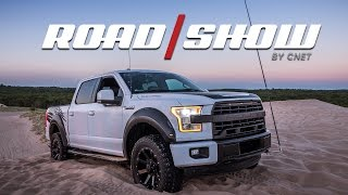 Tackling sand dunes in the 600-hp Roush F-150 SC by Roadshow
