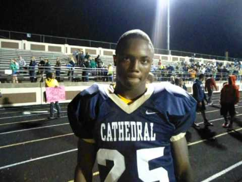 Cathedral's Terry McLaurin Talks After Win Over Arsenal Tech