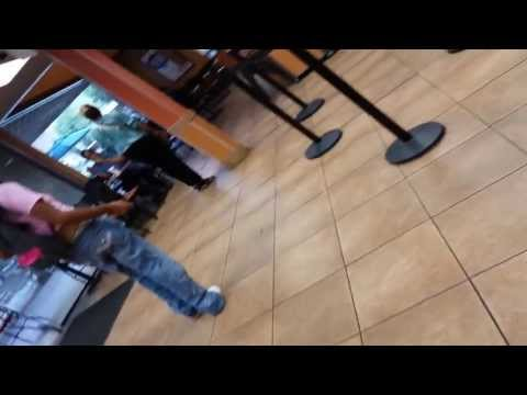 Crazy Mahu Getting All Nuts At Jack In The Box