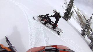 8. 2012 ARCTIC CAT M8 VS 2012 PRO RMK DRAG RACE