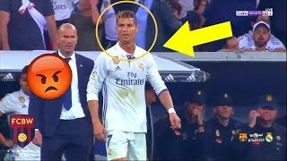 Video When Cristiano Ronaldo Gets Angry | Fights & Angry Moments 2017 MP3, 3GP, MP4, WEBM, AVI, FLV Juni 2019