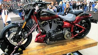 7. 2017 CVO Pro Street Breakout Harley-Davidson │All 3 Colors Shown