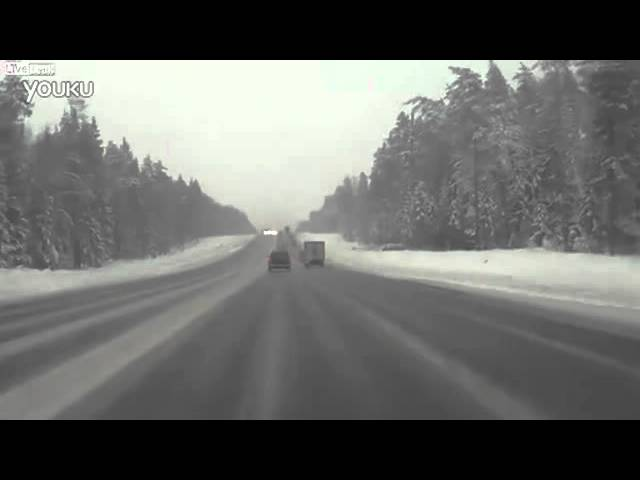 Vụ tai nạn kinh hoàng do đường trơn trượt