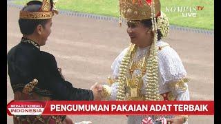 3 Pemenang Pakaian Adat Terbaik Upacara HUT RI di Istana Negara