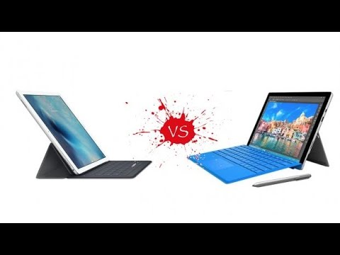 iPad Pro vs Microsoft Surface Pro 4: Specs, Hardware & Features Compared