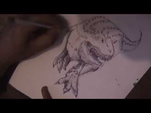 ilustración carnotauro de la pelicula de disney