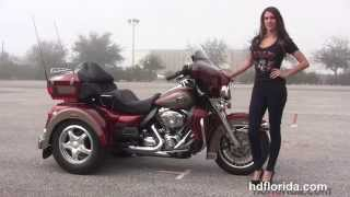 10. Used 2009 Harley Davidson Ultra Classic with Lehman Trike Kit for sale