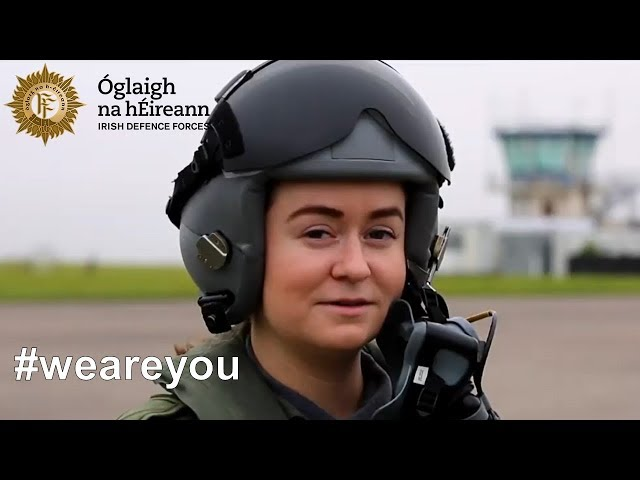 Who are the men and women of the Irish Air Corps?