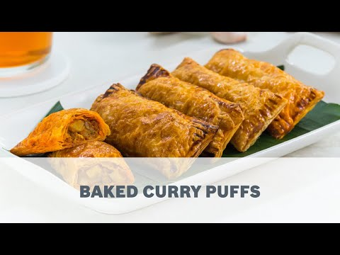 Baked Curry Puffs - Cooking with Bosch