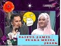 Saiful Jamil Komentar Suara Meisya Samarinda