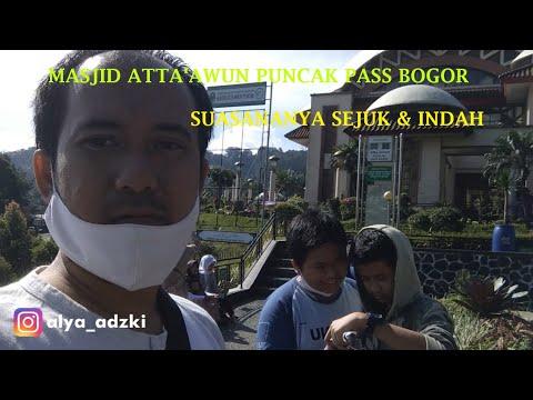 Masjid Atta'awun Puncak Pass Bogor II Suasana Sejuk & Indah