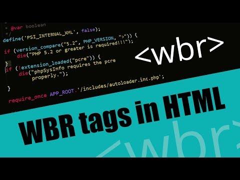 Learn WBR tags in HTML |  Eduonix