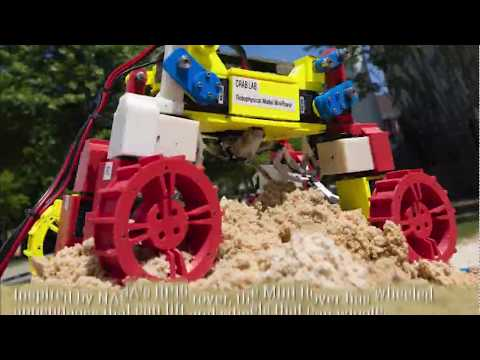Planetary exploration rover avoids sand traps