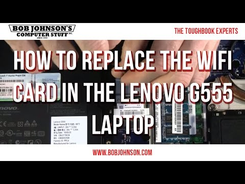 , title : 'How to replace the WIFI card in the Lenovo G555 Laptop'