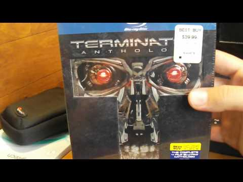 Terminator Bluray Anthology Best Buy Exclusive Unboxing