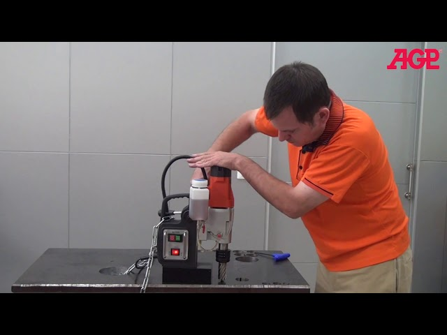 AGP SMD352 / SMD502 Two Speed Magnetic Core Drills – Introduction & Operation