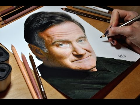 HyperRealistic Drawing nbsp Robin Williams