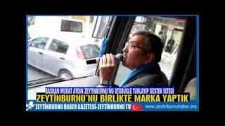Başkan Murat Aydın Zeytinburnu'nu Otobüsle Turlayıp Destek İstedi