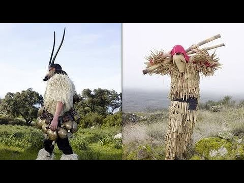 These Surreal Images Capture The Nightmarish Costumes Still Used In Pagan Rituals To This Day