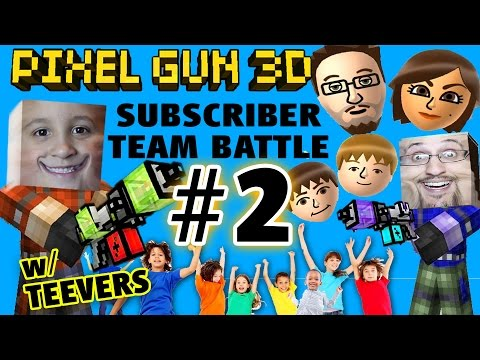 pixel - Well, you all requested and we made it happen! Playing with lots of Subscribers in Pixel Gun Team Battle! :) Thanks to everyone who joined, we really enjoy playing with you guys, you kicked...