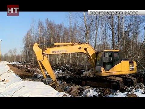 В Шолохово и Плетнихе завершается строительство подъездных путей к участкам