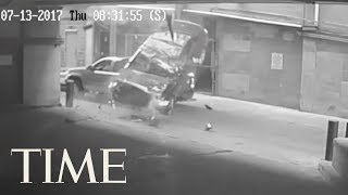 Video Watch A Car Fall 7 Stories From A Texas Parking Garage | TIME MP3, 3GP, MP4, WEBM, AVI, FLV November 2017